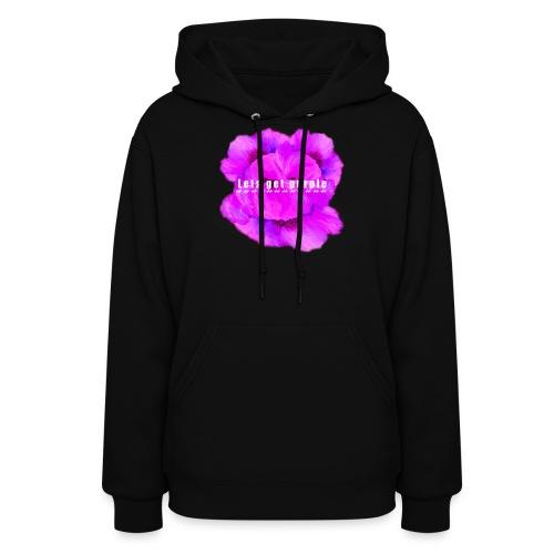 lets_get_purple_2 - Women's Hoodie