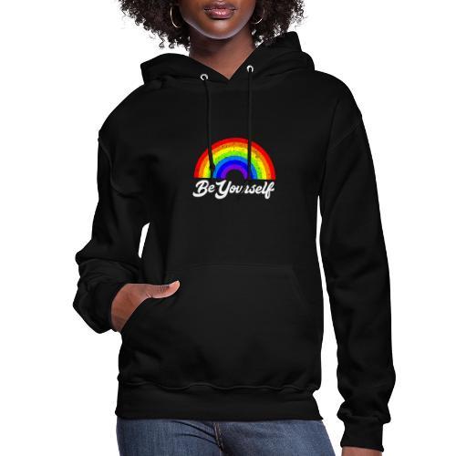 Be Yourself Pride Tee - Women's Hoodie