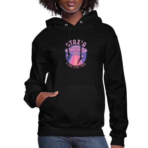 The Cure Is Out There - Purple - Women's Hoodie