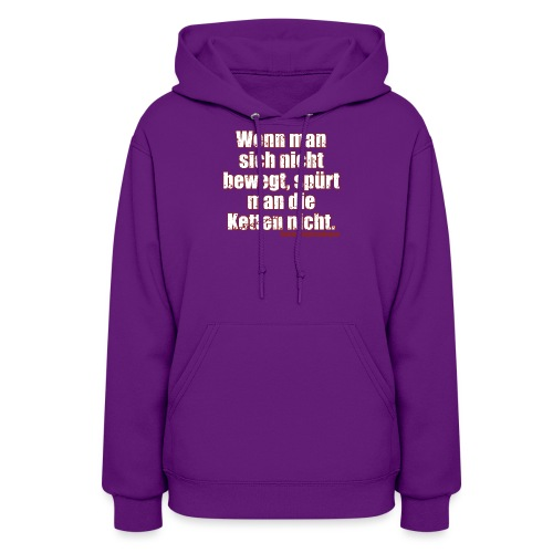 Chains Libertarian Quote Rahim Taghizadegan - Women's Hoodie