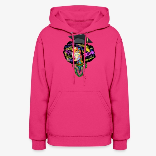 Black Educated Queen School - Women's Hoodie