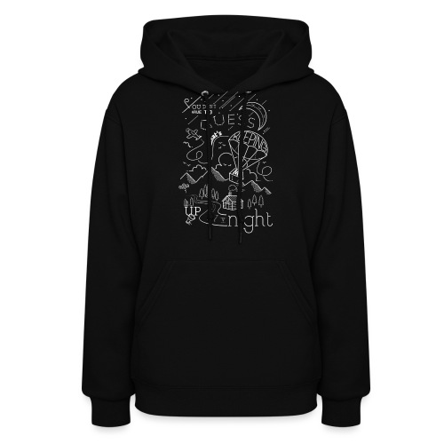 Up at Night Design - Women's Hoodie