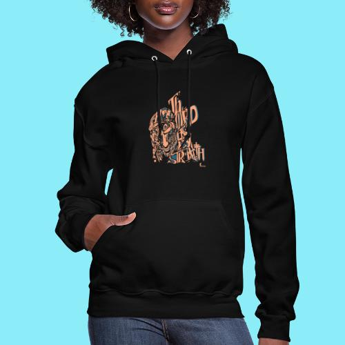 The Lord is my strength Psalm 28:7 - Women's Hoodie