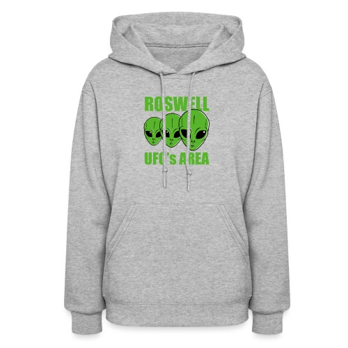 Roswell UFOs Area - Women's Hoodie