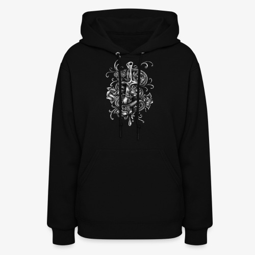 Dagger And Snake - Women's Hoodie