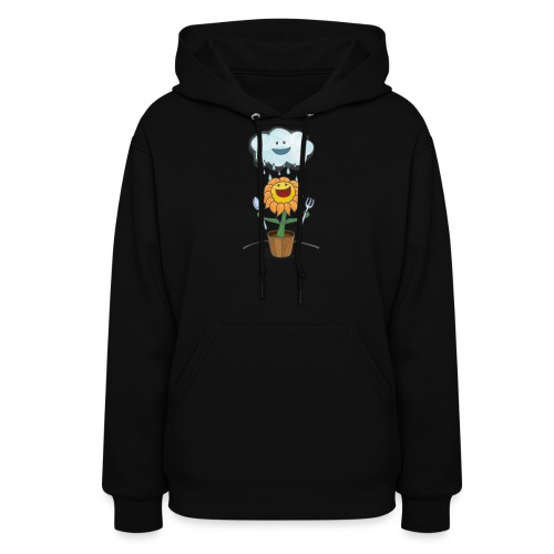 Cloud & Flower - Best friends forever - Women's Hoodie