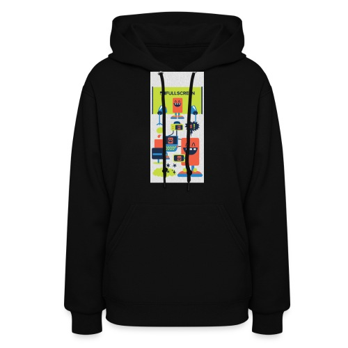 iphone5screenbots - Women's Hoodie