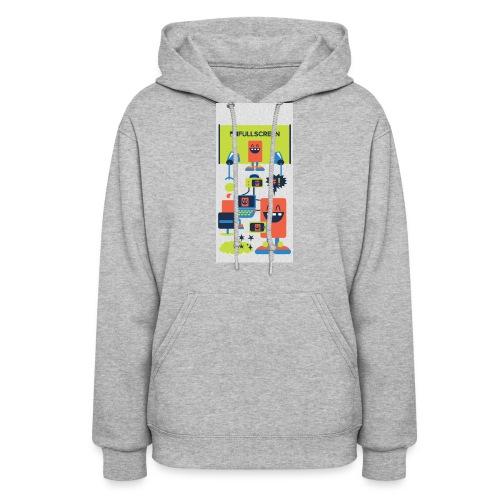 iphone5screenbots - Women's Hoodie