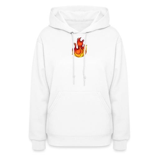 Scorchy White Logo - Women's Hoodie