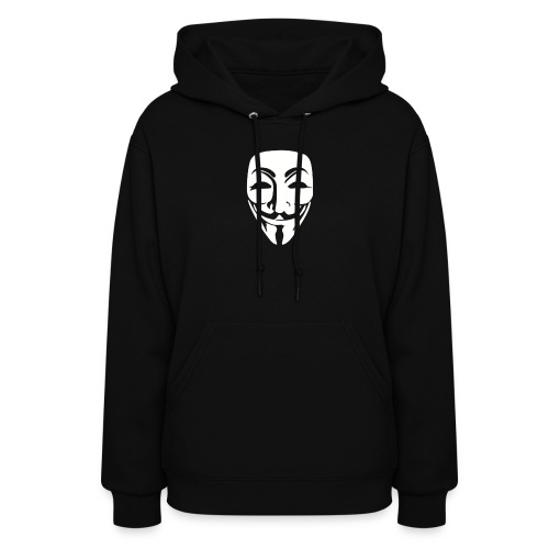 Anonymous Just Face gif - Women's Hoodie