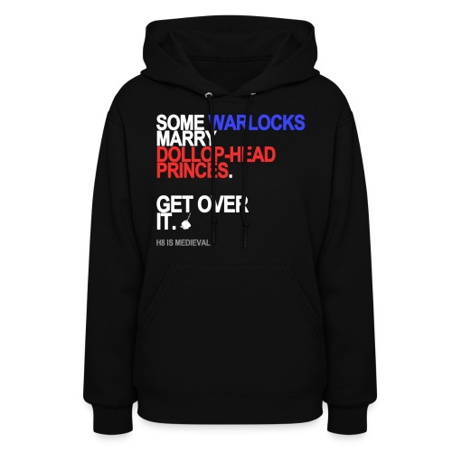 some wizards marry princes black shirt - Women's Hoodie