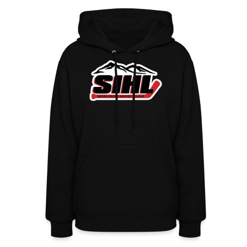 SIHL Logo White Outlined - Women's Hoodie