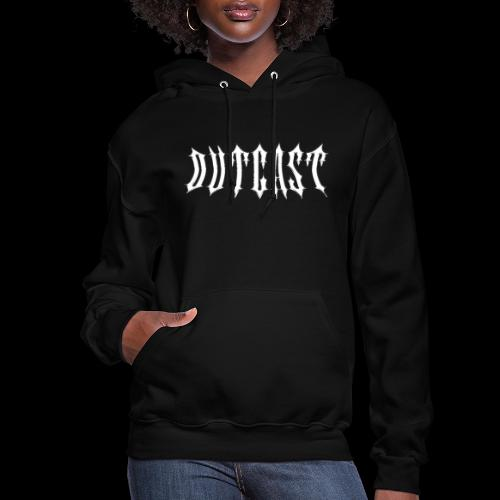 outcast metal logo - Women's Hoodie