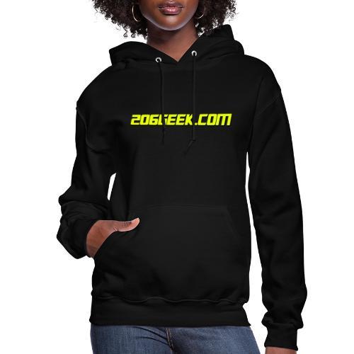 206geek.com - Women's Hoodie