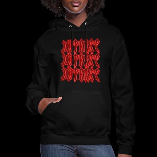 outcast x3 red - Women's Hoodie