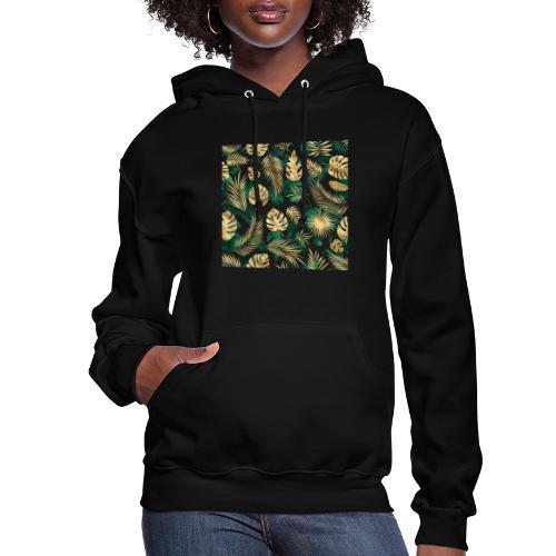 leaf overlay 1 - Women's Hoodie