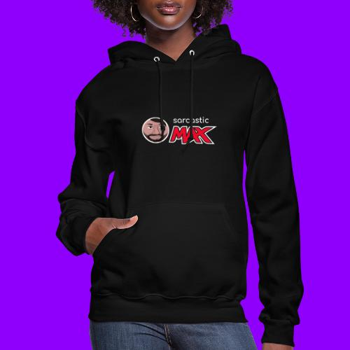 SarcasticMax cola beverage logo - Women's Hoodie