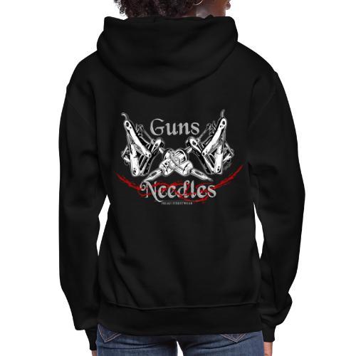 Guns & Needles - Women's Hoodie