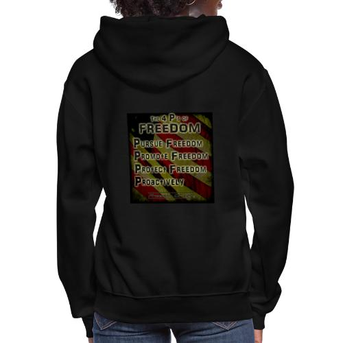 The 4 Ps of Freedom - Women's Hoodie