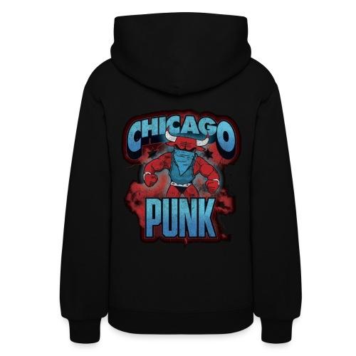 Chicago Punk Vintage - Women's Hoodie