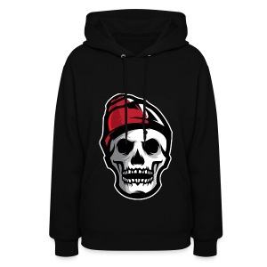 Custom Skull With Ice Cap Merch! - Women's Hoodie