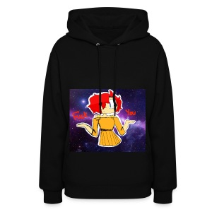 Fuck you galaxy girl - Women's Hoodie