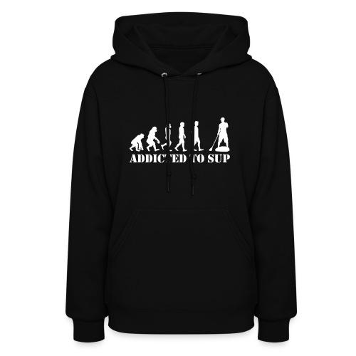 EvolutionAddictedtoSUPWhite - Women's Hoodie