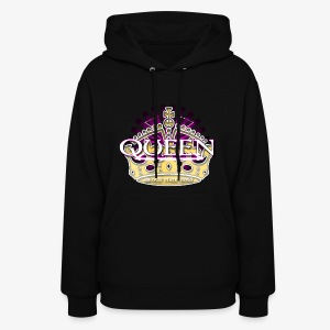 QUEEN AMONGST OTHER THINGS - PINK - Women's Hoodie