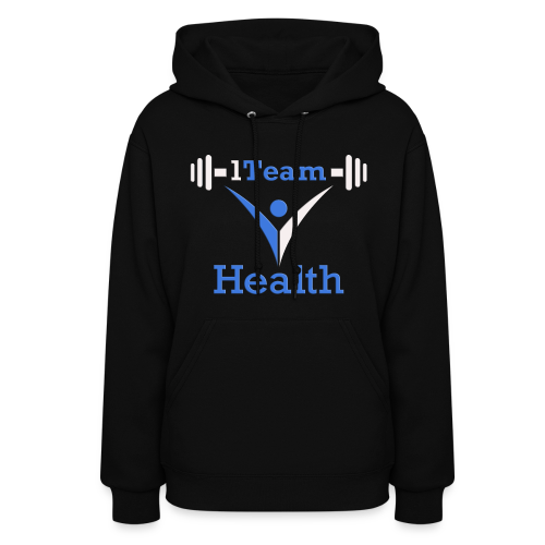 1TH - Blue and White - Women's Hoodie