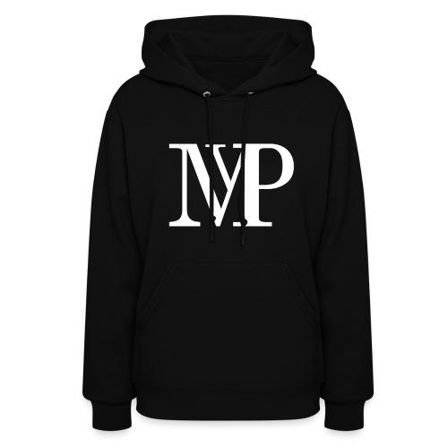 (White) Mvp Logo - Women's Hoodie