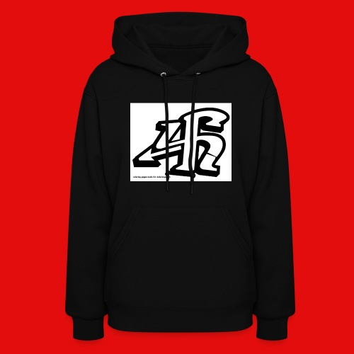 4h graffiti letters and numbers - Women's Hoodie