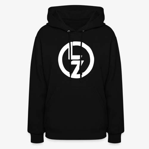 White LZ Logo - Women's Hoodie