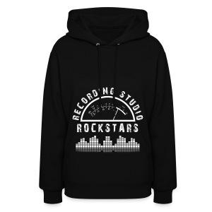 Recording Studio Rockstars - White Logo - Women's Hoodie
