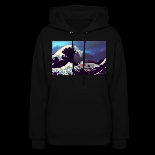 Space Wave - Women's Hoodie