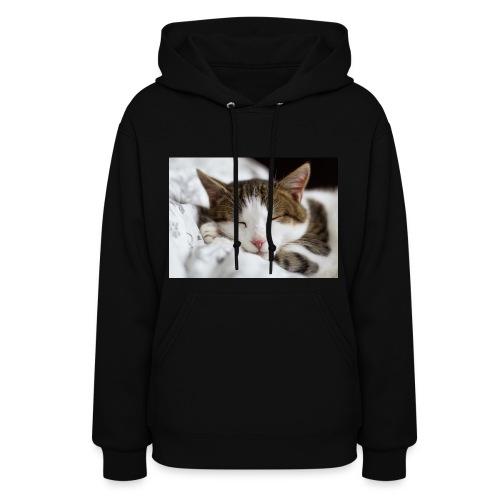 women's Cat T-shirt - Women's Hoodie