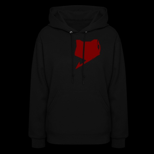 FoxTailArmy Red Logo Woman's Hoodies - Women's Hoodie