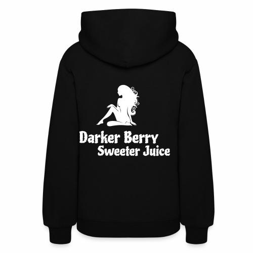 Darker Berry Sexy V - Women's Hoodie