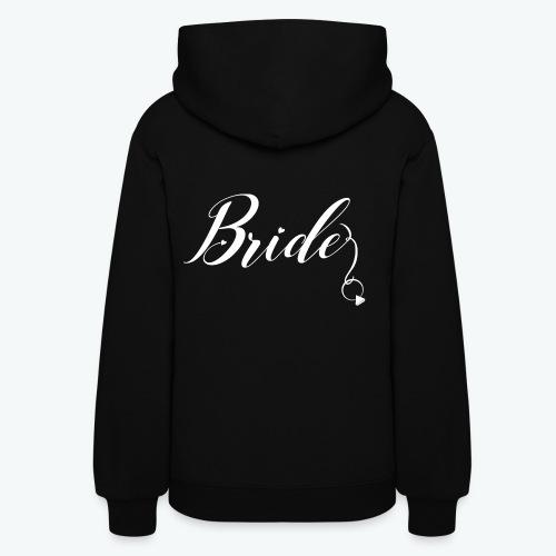 VaRod Designs Bride Tee in white letters - Women's Hoodie
