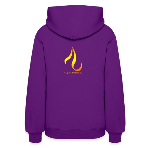keep the fire burning - Women's Hoodie