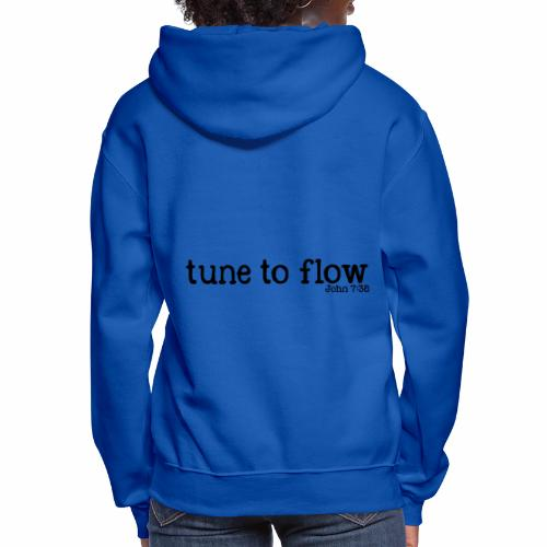 Tune to Flow - Design 2 - Women's Hoodie