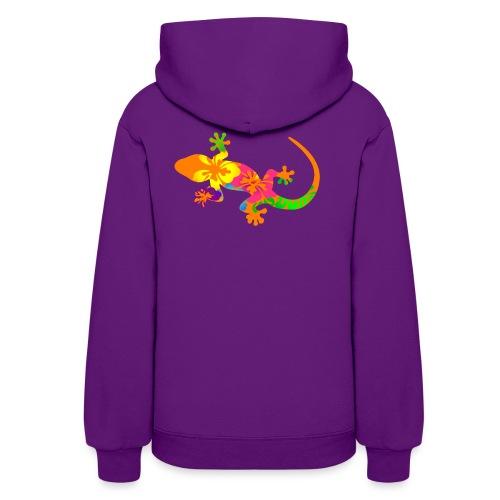 Gecko colorful - Women's Hoodie