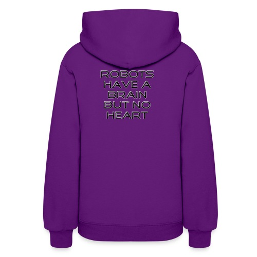 Don´t be afraid of robots - Women's Hoodie