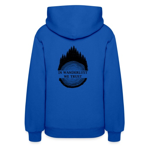 In Wanderlust We Trust - Women's Hoodie