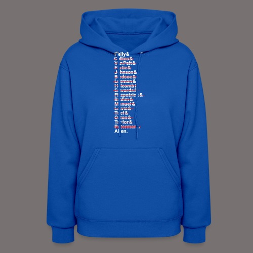 Buffalo Franchise Quarterbacks - Women's Hoodie