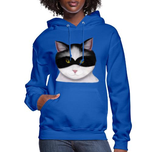 I am called the Masked Cat - Women's Hoodie