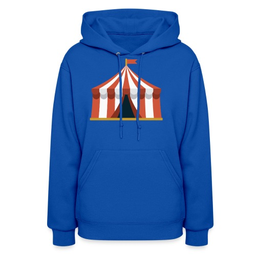 Striped Circus Tent - Women's Hoodie
