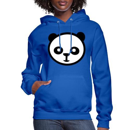 Panda bear, Big panda, Giant panda, Bamboo bear - Women's Hoodie