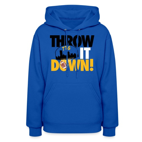 Throw it Down! (Turnover Dunk) - Women's Hoodie