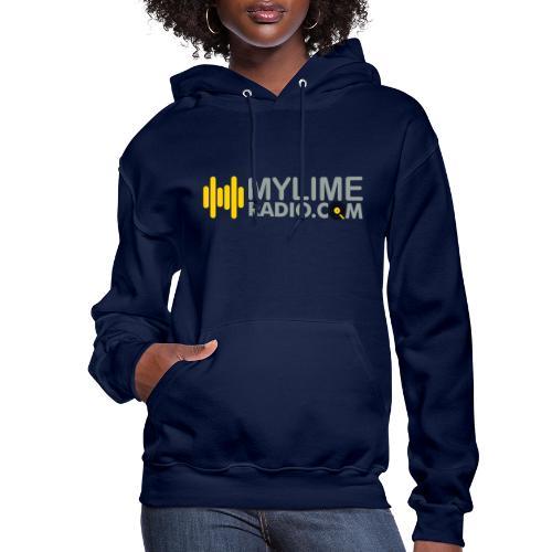 MyLimeRadio ALT LOGO (Tri Colour) - Women's Hoodie