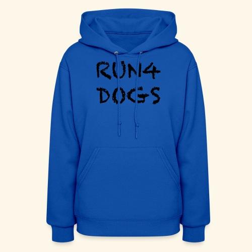 RUN4DOGS NAME - Women's Hoodie